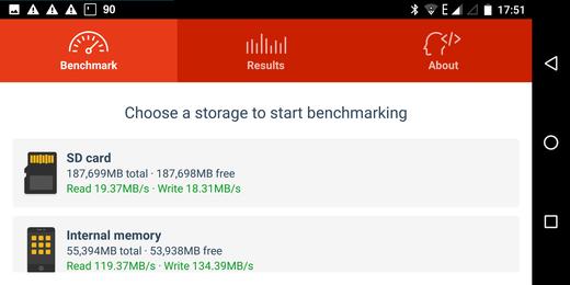 Gemini PDA memory bench